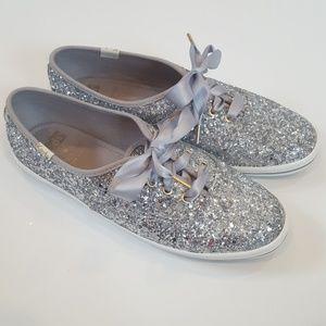 ❤️Host Pick❤️ Keds x Kate Spade Glitter Sneakers